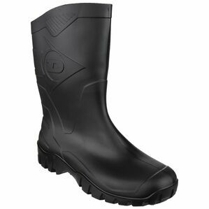 Dunlop Dee Calf Length Wellington Boots (Black)