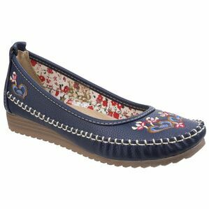 Algarve Moccasin in Navy