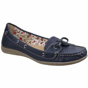 Alicante Boat Shoe in Navy