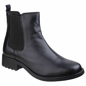 Cambridge Leather Chelsea Boot in Black