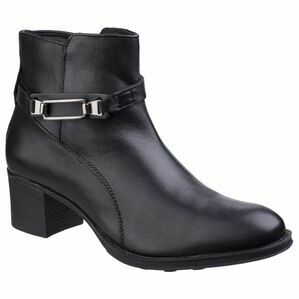 Canterbury Leather Ankle Boot in Black
