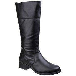 Dorcester Long Boot in Black