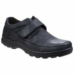Hurghada Velcro Shoe in Black