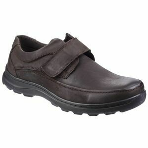 Hurghada Velcro Shoe in Brown