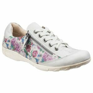 Juniper Lace Up Trainer in Floral
