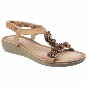 Matira T Bar Slingback Sandal in Tan