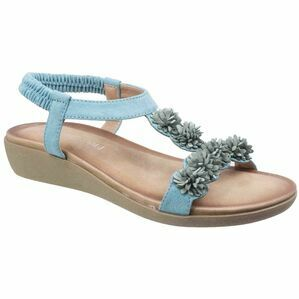 Matira T Bar Slingback Sandal in Turquoise