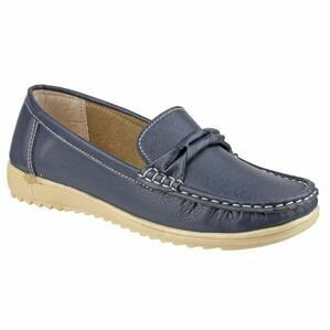 Paros Loafer Shoe in Navy