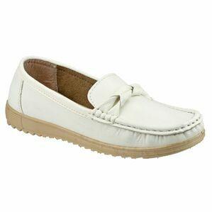 Paros Women\'s Loafer Shoes - White
