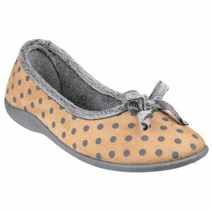 Toulon Ballerina Slipper in Beige