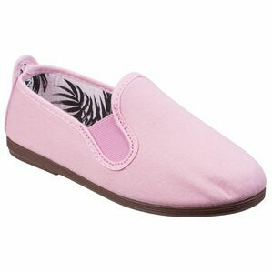 Arnedo Canvas Slip On Jnr in Baby Pink