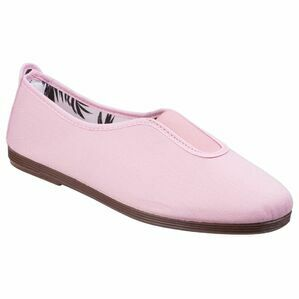 Califa Canvas Shoe in Baby Pink