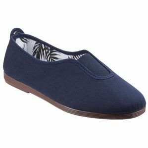 Califa Canvas Shoe in Navy