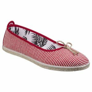 Sabroso Ballerina Espadrille in Red