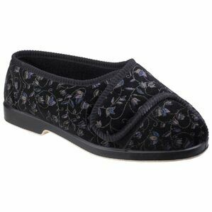 Nola Extra Wide Fit Ladies Sli in Black