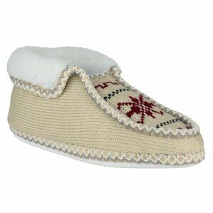 Norway Slip On Slipper in Beige