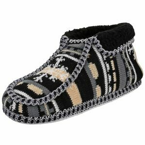 Norway Slip On Slipper in Black