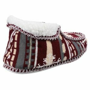 Norway Slip On Slipper in Red