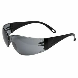 Caterpillar Jet Safety Frame Glasses - Smoke Black