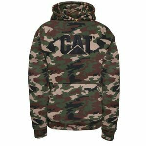 Caterpillar Trademark Sweater - Woodland Camo