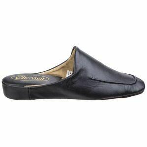 Carlos Mens Mule Slipper in Black