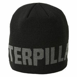 Caterpillar Branded Beanie Hat (Black)