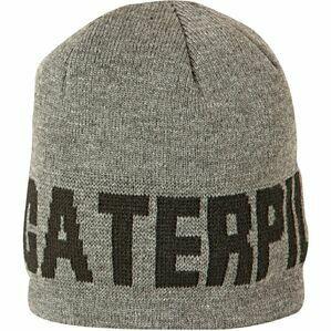 Caterpillar Branded Beanie Hat (Dark Heather Grey)