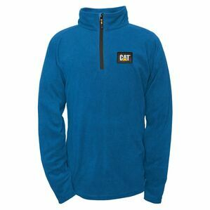 Concord Fleece Pullover in Bright Blue