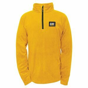 Caterpillar Concord Fleece Pullover - Yellow