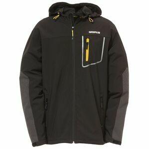 Caterpillar Capstone Hooded Soft Shell Jacket - Black