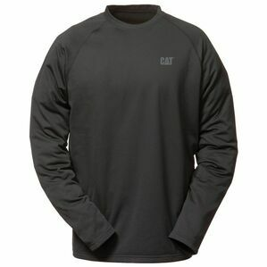 Caterpillar Flex Layer Raglan Long Sleeve T-Shirt - Black