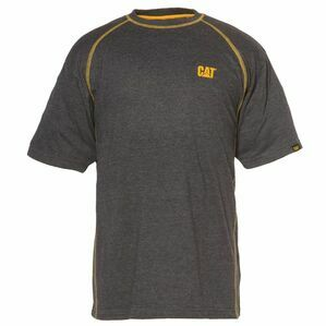 Caterpillar Heather Performance T-Shirt - Grey