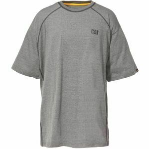 Caterpillar Heather Performance T-Shirt - Heather Grey