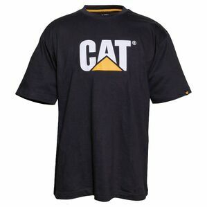 Caterpillar Trademark Logo T-Shirt - Black