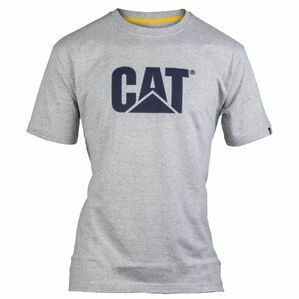 Caterpillar Trademark Logo T-Shirt - Heather Grey