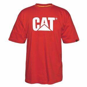 Caterpillar Trademark Logo T-Shirt - Red Tide