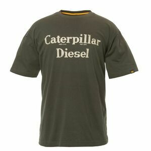 Caterpillar Diesel T-Shirt - Moss Green
