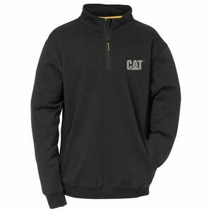 Caterpillar Canyon 1/4 Zip Sweatshirt - Black