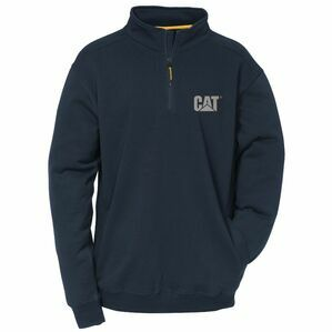 Caterpillar Canyon 1/4 Zip Sweatshirt - Navy