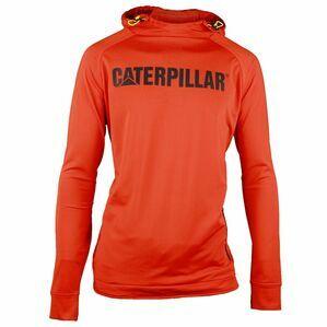 Caterpillar Contour Pullover Sweatshirt in Adobe Orange
