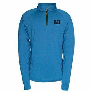 Caterpillar Contour 1/4 Zip Sweatshirt in Sapphire