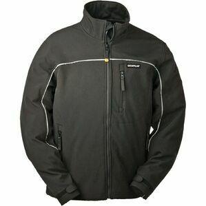 Caterpillar Soft Shell Jacket in Black
