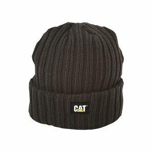 Caterpillar Rib Watch Hat in Graphite