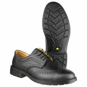 FS44 Safety Brogue in Black