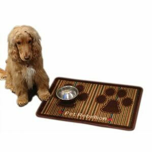 Pet Rebellion Berkshire Tweed Dog Food Mat
