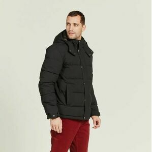 Aigle Ballow Padded Winter Jacket - Black
