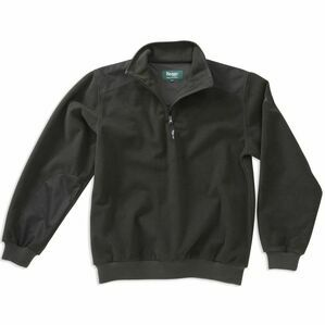 Hoggs Working Climate Micro Fleece Pullover - Green