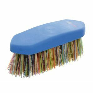 HySHINE Dandy Horse Brush Blue/Multi Coloured