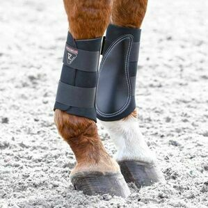 Tri-Zone Brushing Boots - Black