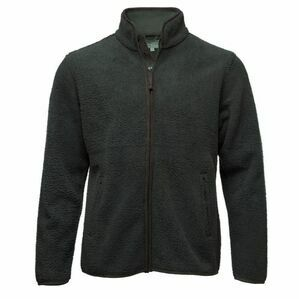 Hoggs Men's Cambridge Tufted Fleece Jacket (Olive Green)